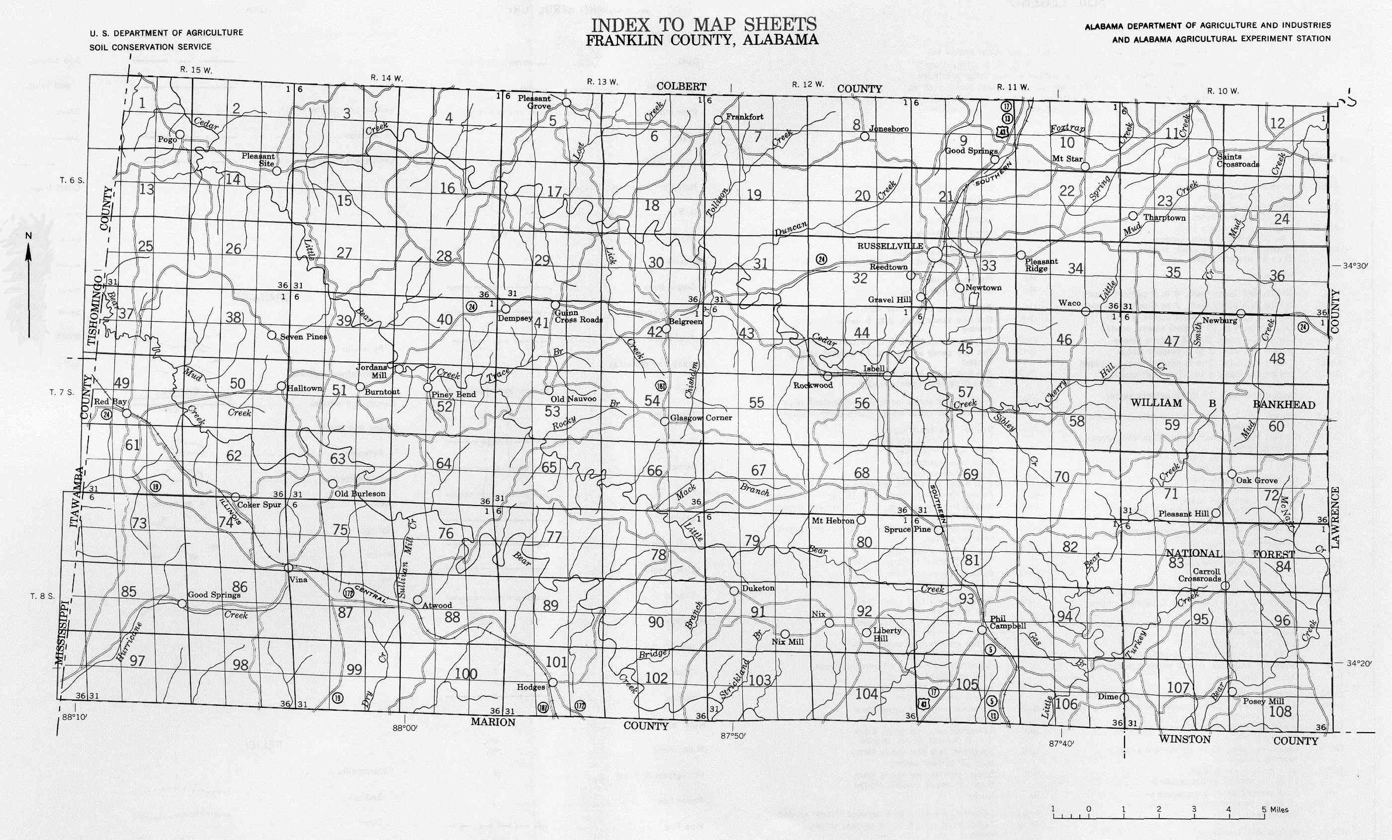 These Soil Survey Maps Were Compiled In 1963 As A Part Of A Soil Survey By The Soil Conservation Service U S Department Of Agriculture