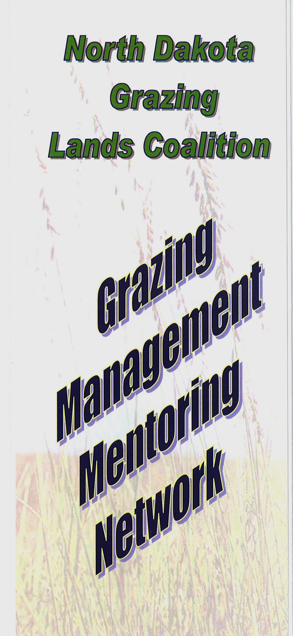 Picture of Grazing Managment Brochure Cover