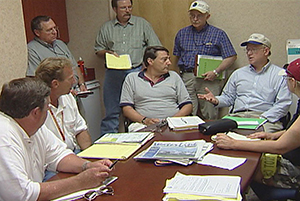 NRCS officials meeting with Punta Gorda officials