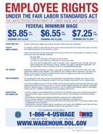 Employee Rights Under Fair Labor Act Poster