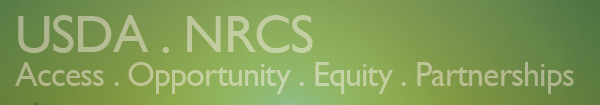 USDA . NRCS . Access . Opportunity . Equity . Partnerships