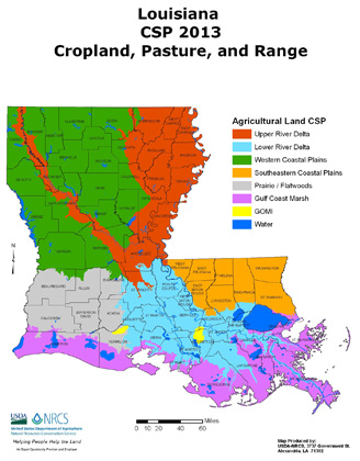 2013 CSP Cropland, Pasture, and Range Map (PDF; 1.1 MB)