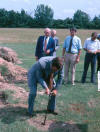 Final Acre ceremony Haywood County, TN; circa 1986