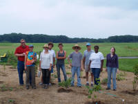planting team at Snyder Farm June 2011