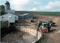 Manure Storage Facility