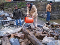 archeological investigation at Finesville