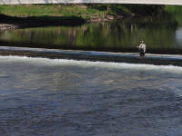 fishing in Rartitan River