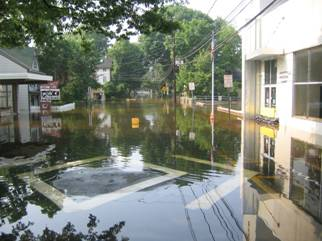 South Union Street flooded June 2006