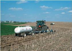 nutrient management - spreading