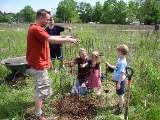 photo of Walnut Brook Buffer planting with volunteers