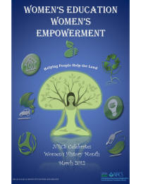 2012 Womens' History Month Poster