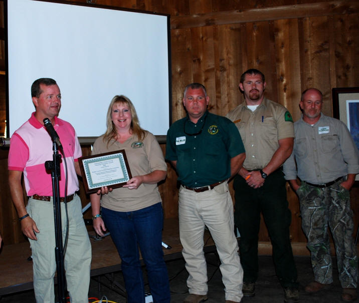 Walker County Forestry Planning Committee received award