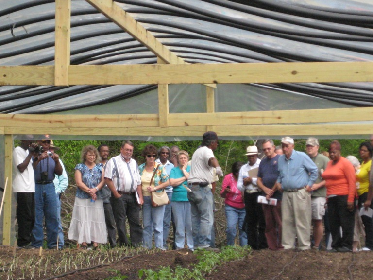 Hobson City Gardens Demonstration Tour