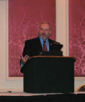 Dr. William Puckett spoke at luncheon.