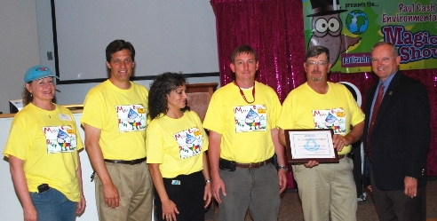 Lee County Water Festival Leadership received recognition.