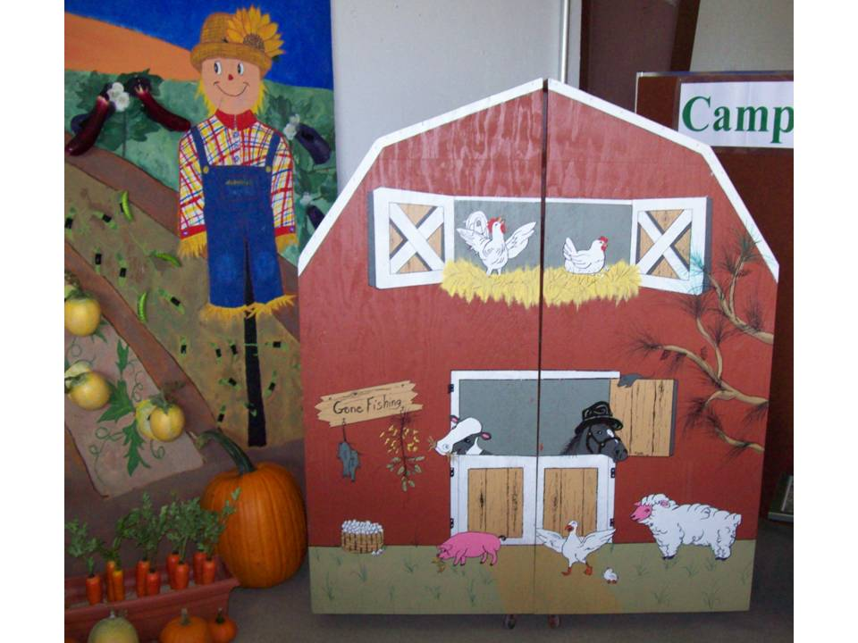 County Fair Display Cullman County 9-2009