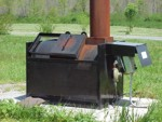 incinerator for dead chicken disposal