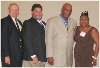 Dr. William Puckett, Duane Andrews, Richard Smith and  Prentella Smith.