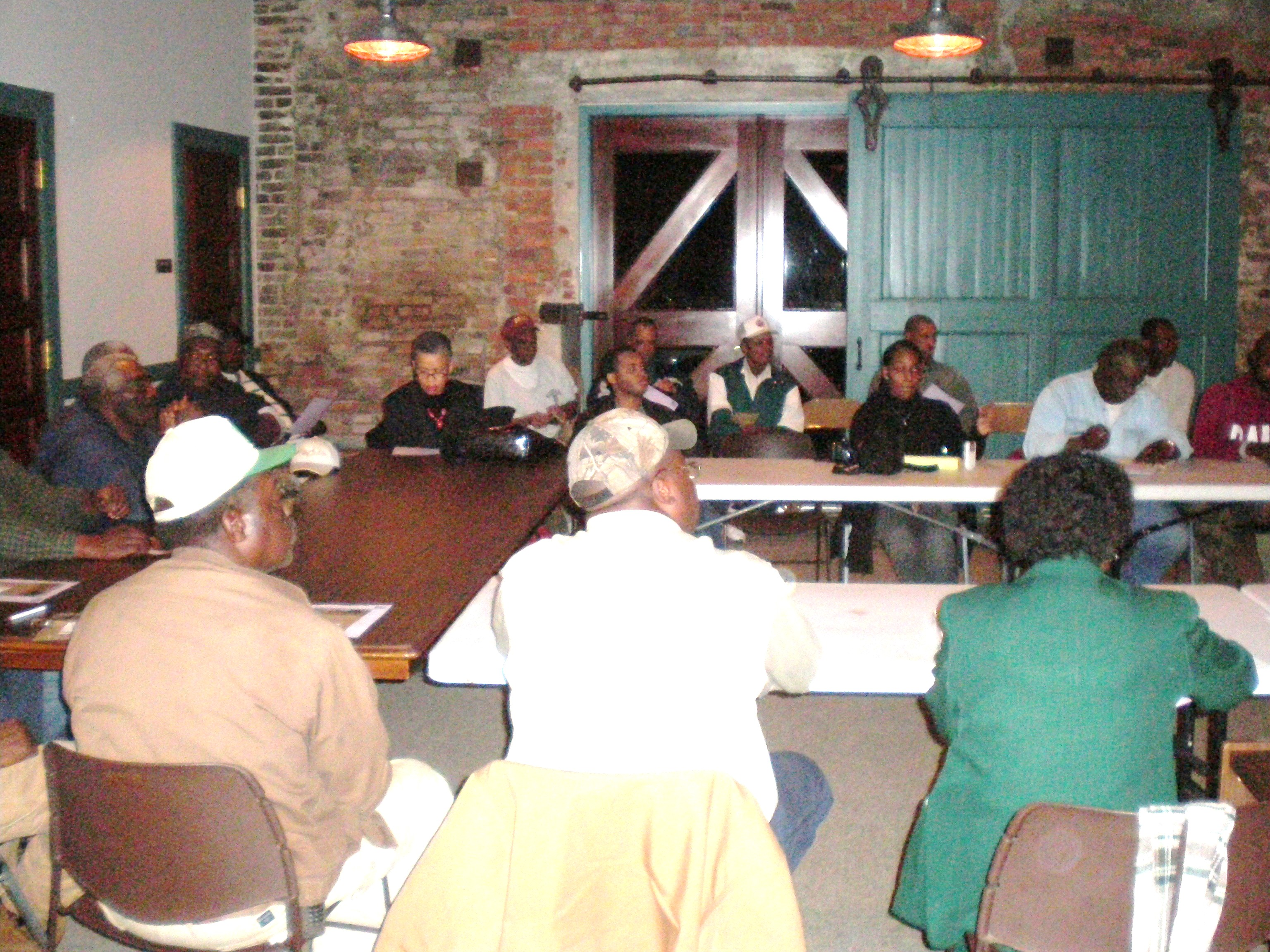 Barbour County Outreach Meeting