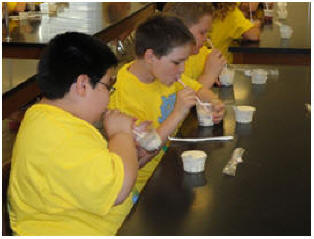 Students enjoy consuming their editable aquifers.