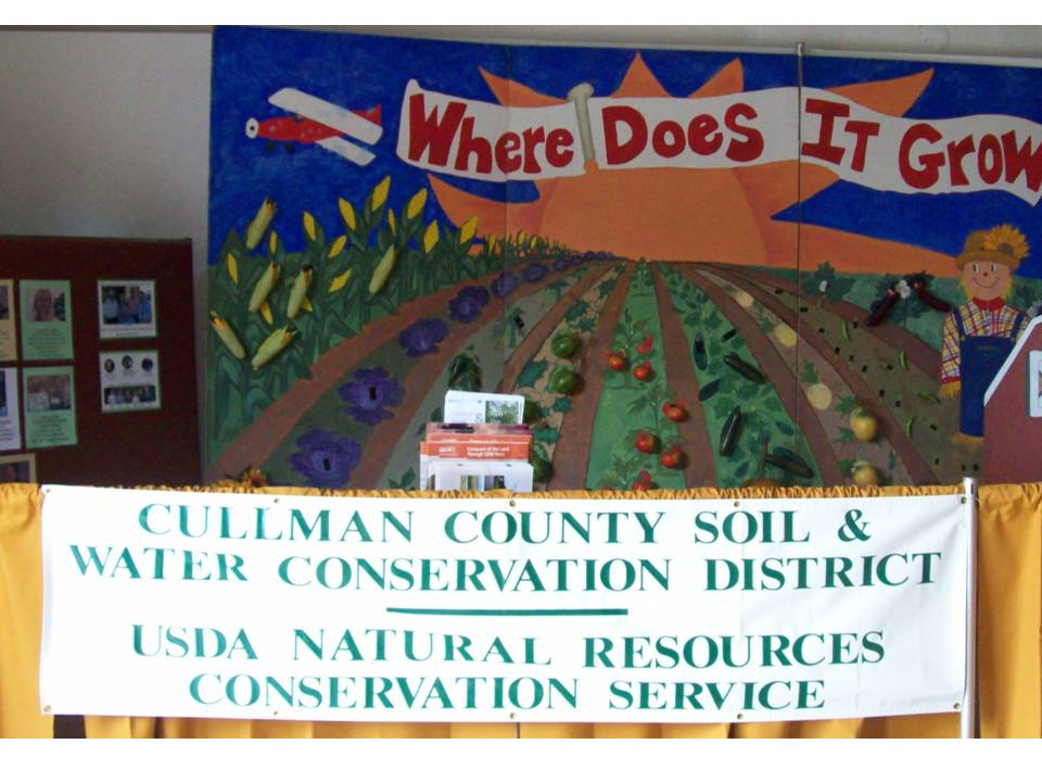 Cullman County Fair Booth 9-2009