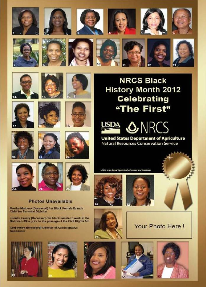 2012 Black History Month Poster