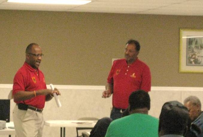 (l-r) Alford Jackson and George Hunter, Tuskegee Extension Advisors