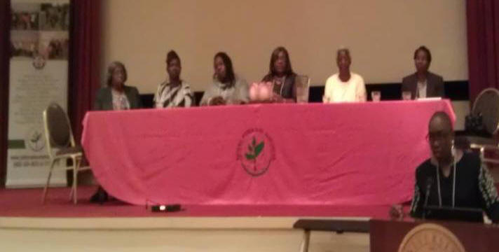 Panel of local women conservationist.