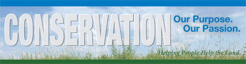 CONSERVATION...Our Purpose. Our Passion Banner