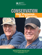 Ted and Ron Gilles, IL Conservation Farmers