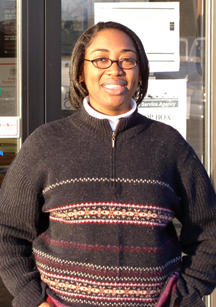Photo of Annette Holmes, District Conservationist