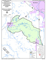 douglas creek map
