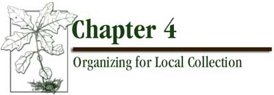Chapter 4 - Organizing for Local Collection