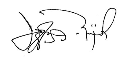 Signature for Jeffrey Zimprich