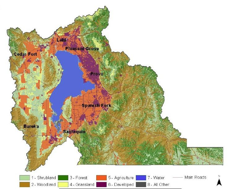 Utah County Land Use Map