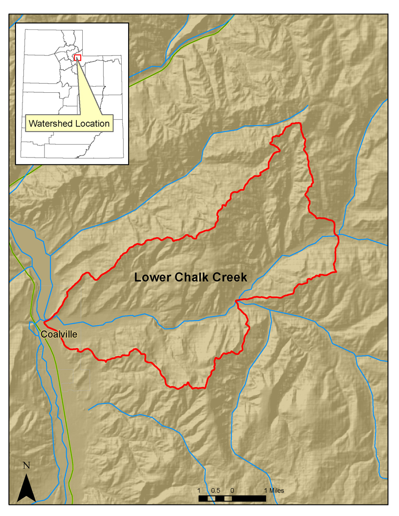 Lower Chalk Creek -- Water Quality Initiative