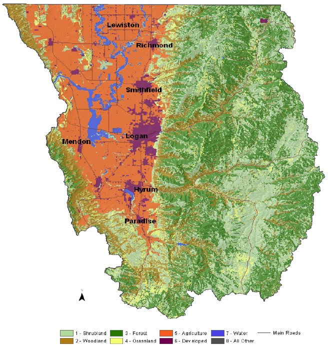 Cache County Land Use Map