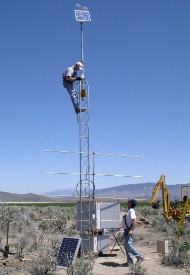 SCAN (Soil Climate Analysis Network) instrumentation is installed near Circleville