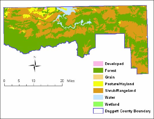 Daggett County Land Use Map