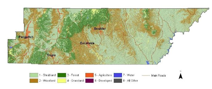 Garfield County Land Use Map