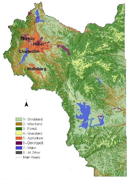 Wasatch County Land Use Map