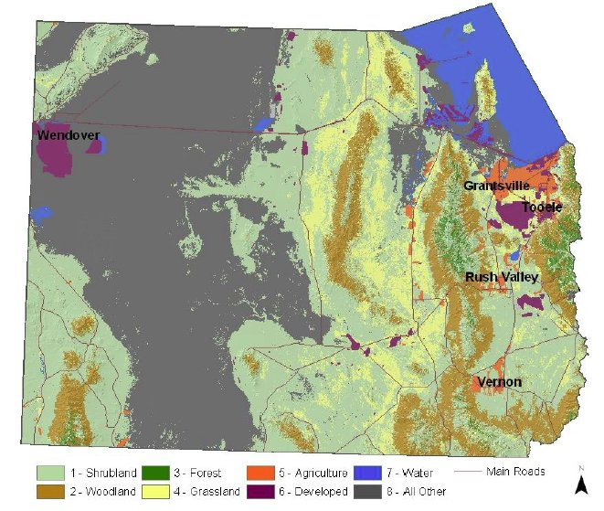 Tooele County Land Use Map