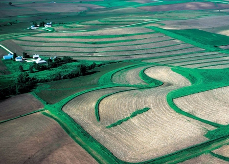 Land treatment practices nrcs south dakota for What is terrace farming definition