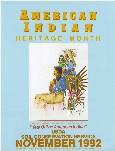 "1992 ""Year of the American Indian"" by Daniel Long Soldier, South Dakota (NRCS photo -- click to enlarge)"