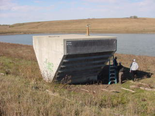 Spring Bull Flood Control Structure