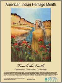 2008 American Indian Heritage Month poster