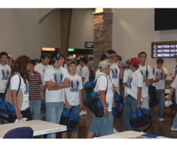 Approximately 1,400 students attended the Youth Summit 2008 held in Durant.