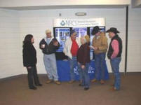 NRCS employees from Grady and Gavin County visit about local resource concerns.