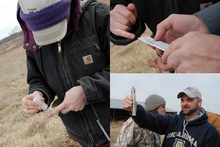 Using tools to evaluate wind speed, humidity and temperature are important factors to safely conduct a burn.