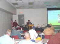 Forty people attended the EWP training held in Wayne, Oklahoma.